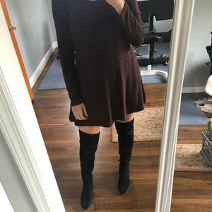 Dolce Vita OTK black boots Fall Fashion